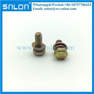 Hex Head Screws With Washer Attached