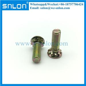 Carbon Steel Phillips Flat Head SEM Screws with Serrated Lock Washer