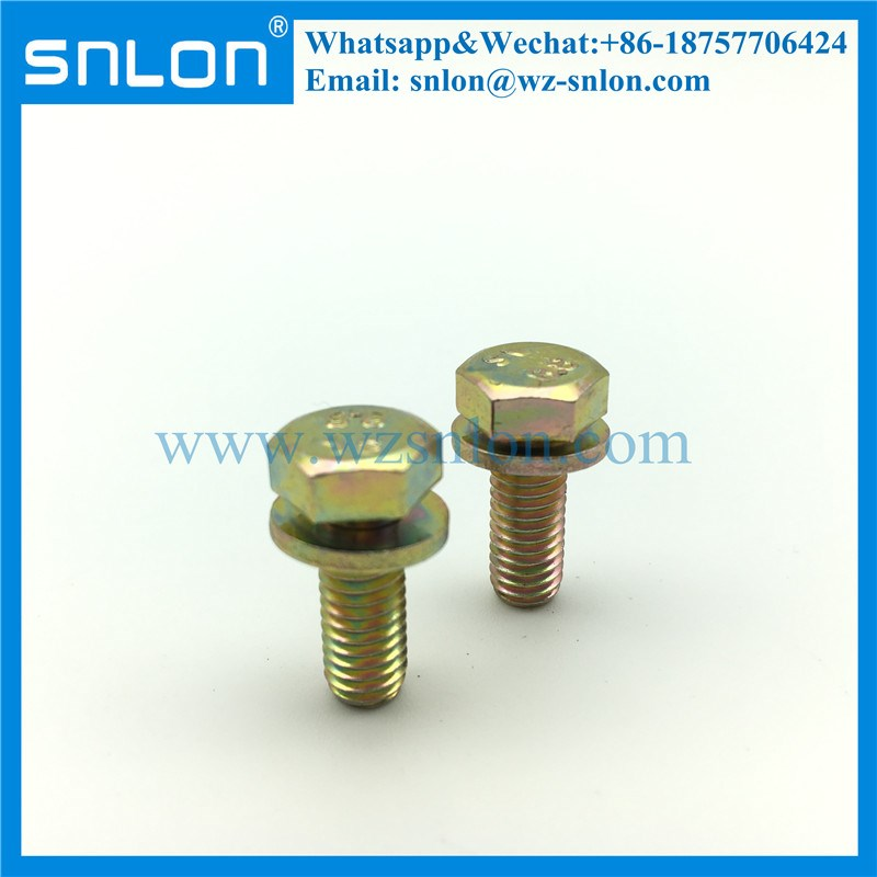 Hex Bolt/Hexagon Bolt/Machine Bolt with Washer
