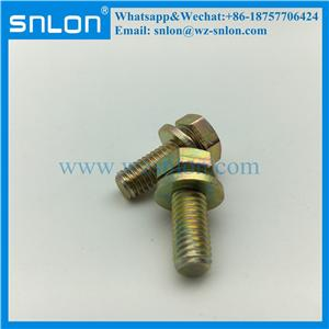 Hex Bolt Machine Screw with Washer for Auto Parts