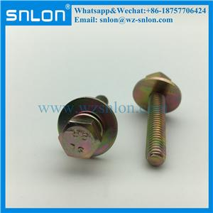 Hex Head Machine Screw With Big Washer