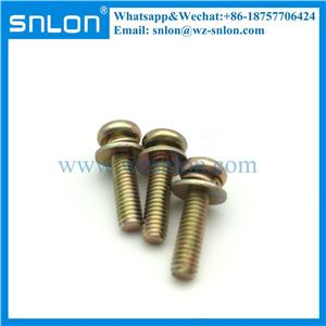 Torx Lobe Pan Head Screw With Washer Sems Screw