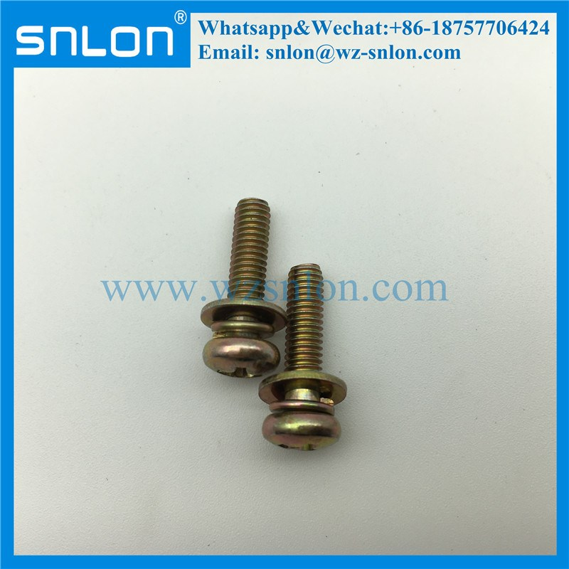 Phillips Pan Head Sems Machine Screw with Washer