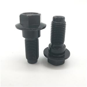 Sefty Belt Screw Step Screw 7/16'' Black Zinc
