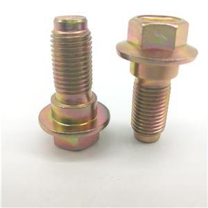 Sefty Cintura Vite Vite Passo 7/16 '' '' giallo zinco Grade 10,9