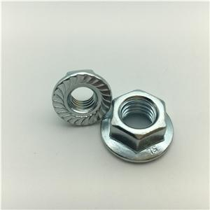 DIN6923 Hex Nut with Flange Serration Hex Flange Nut