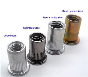 Rivet Nut Tubular Nut Steel Nut Stainless Steel Nut