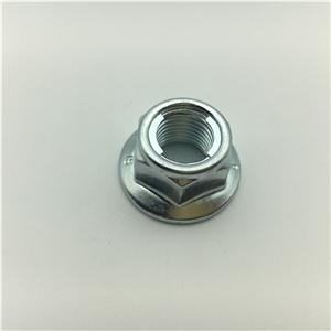 Bloqueo DIN985 No Nylon tuerca de seguridad metálica tuerca de brida Tuerca de seguridad