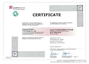 IATF16949 certifikat