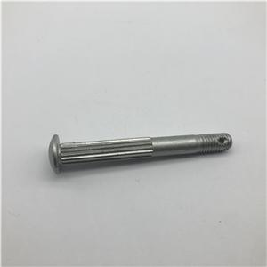 Bolt round head ribbed neck class 12.9 steel dacromet Gr4