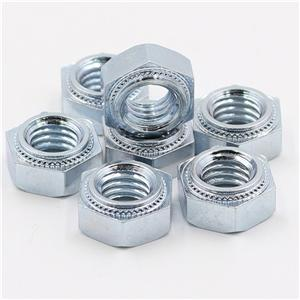 Hex Press Nut M6-1 M6-2 Grade 8 Nickel Plating