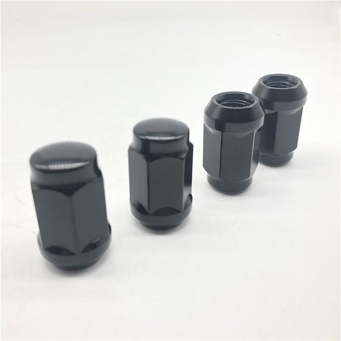 Электрофорез черный M12x1.5 Колесная гайка ступица колеса гайка для автомобиля