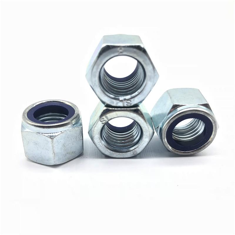 Écrou de blocage en nylon Nylon Din982 DIN985