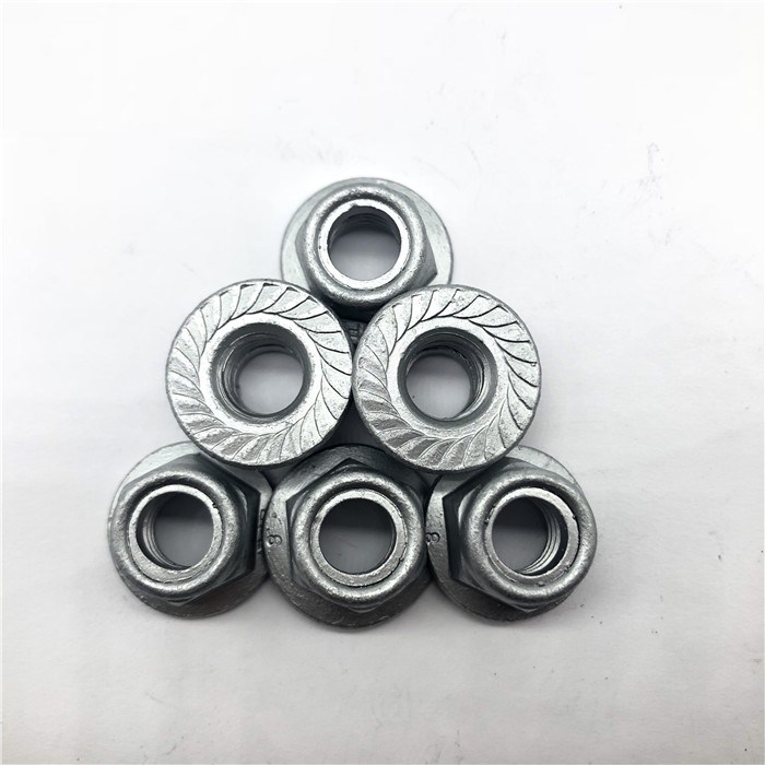 Nut Hex Serrated Flange Nylon Insert M10X1.5 Cl8.8 Dacromet Gr4 Nylon lock nut Manufacturers, Nut Hex Serrated Flange Nylon Insert M10X1.5 Cl8.8 Dacromet Gr4 Nylon lock nut Factory, Supply Nut Hex Serrated Flange Nylon Insert M10X1.5 Cl8.8 Dacromet Gr4 Nylon lock nut