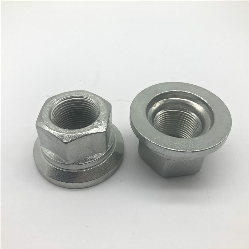 Wheel Hub Nut M22x1.5 Wheel Nut White zinc plating Manufacturers, Wheel Hub Nut M22x1.5 Wheel Nut White zinc plating Factory, Supply Wheel Hub Nut M22x1.5 Wheel Nut White zinc plating