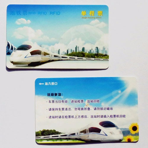 RFID Traffic Cards