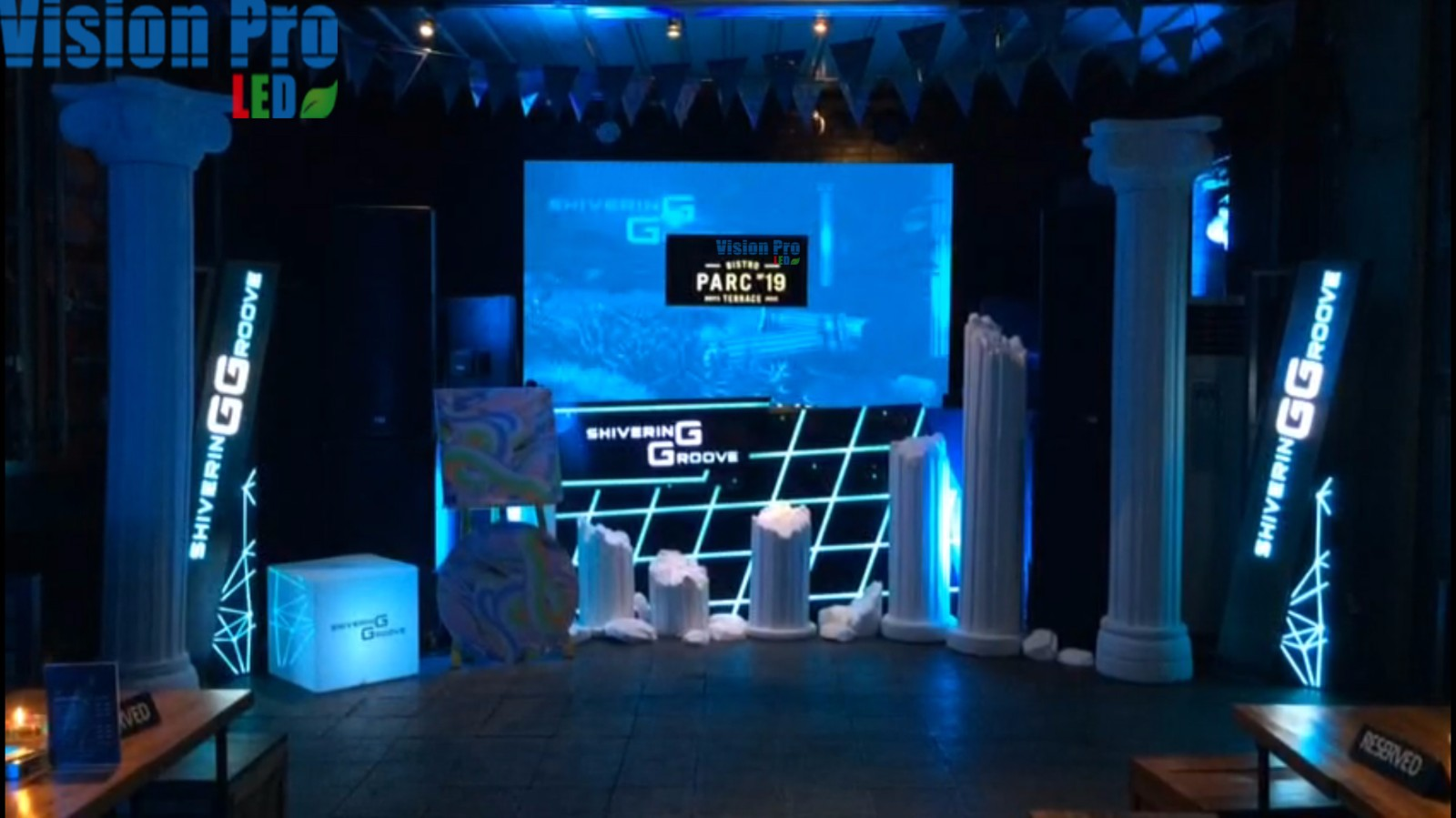 PH4 LED Display for Auto Show
