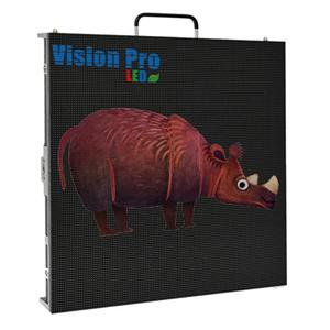 Indoor PH4.81 Mobile LED Display Die Casting Cabinet