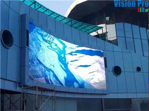 Outdoor curved PH10 LED Display for advertising 55SQM