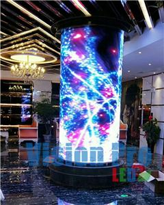 PH4 Cylinder LED Display for Shopping Mall