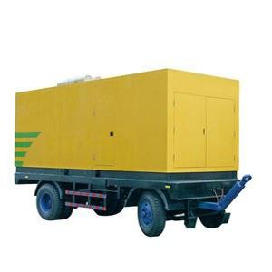 Movable generator set