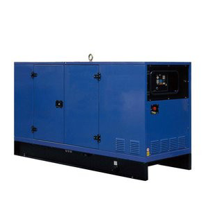 silent type generator set