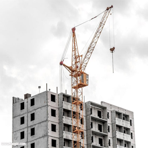 movable arm type tower crane