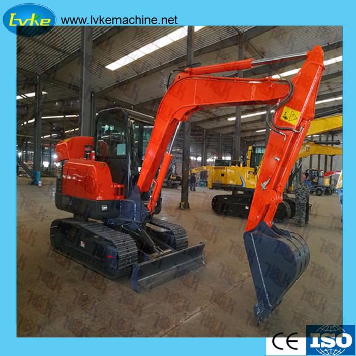 The development of hydraulic excavator