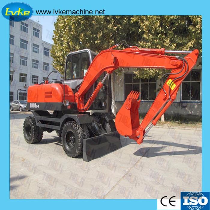 Advantages of crawler excavator