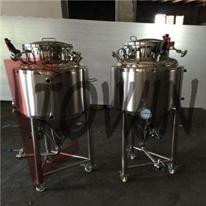 Jacketed Conical Beer Fermenters
