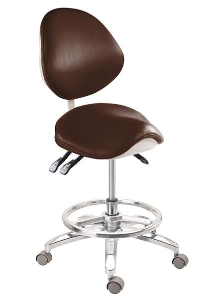 Height Adjustable Saddle Chair