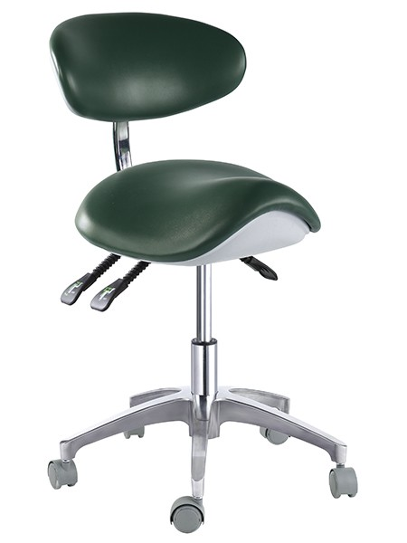 Saddle Chair With Wheels