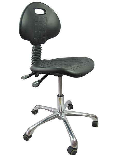 Lab Stool With Back
