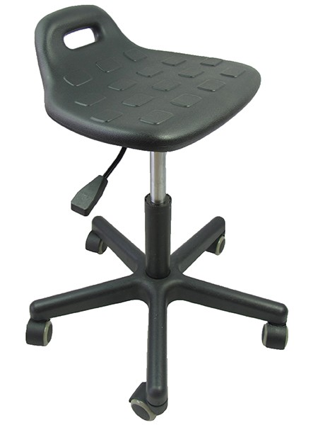 Lab Stool With Backrest