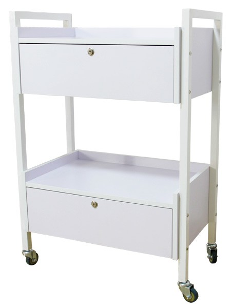 Beauty Trolley With Drawer
