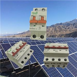 PV System Special Purpose DC Circuit Breaker