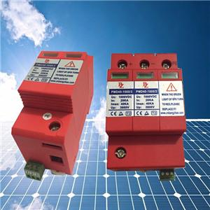 Surge Protective Devices For 1000v/1500v Solar Power System