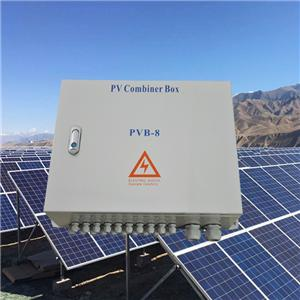 High Voltage 1000VDC Solar Distribution Box PVB-8(8 in 2 out)