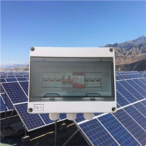 600V-1000VDC Pv Lighting Protection Box PVB-3(3 in 1 out)