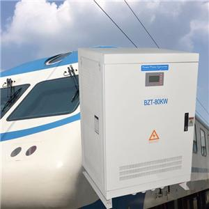 80kw Static State Transduce Voltage Converter from 120/208VAC 60HZ to 230/400VAC 50HZ