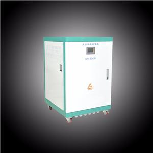 Rated voltage 600VDC 3 phase hybrid inverter with MPPT and AC generator input