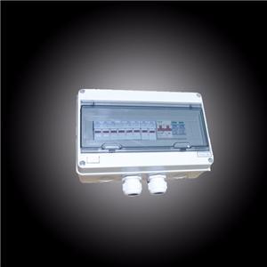 Solar string combiner box 1000VDC with DC fuse, DC breaker