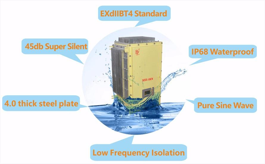 5kw to 8kw 220v 60hz To 380v 50hz Converter (Rack-mounted type)