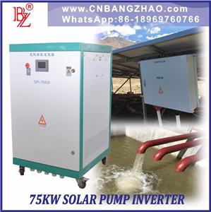 99.6% High Efficiency Pump Inverter For Off Grid System