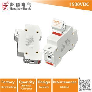 1500V DC fuse holder with indicator for high voltage Solar system