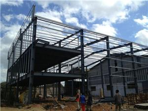 Light Precision Steel Frame Warehouse Construction