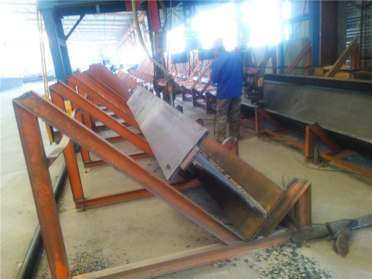 Heavy Steel Structural Construction