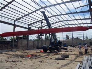 Heavy Engineering Steel Structure Warehouse Construction