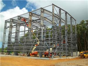 Prefab heavy large metal structure building