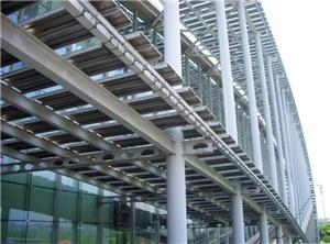 Galvanized Steel Column